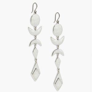 NWT Lucky Brand Moon Phase Earrings